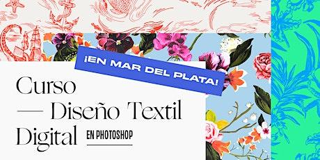 DISEÑO TEXTIL DIGITAL INTENSIVO MAR DEL PLATA - 20 y 21 de Marzo de 9 a 13 hs entradas