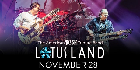 Lotus Land: American Rush Tribute tickets