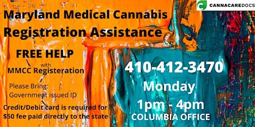 Maryland Medical Cannabis Registration Assistance