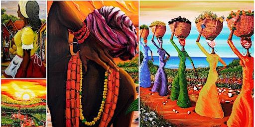 The Colours of My Art - Nasha Bradshaw