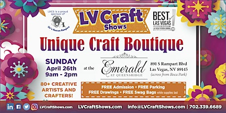 Unique Craft Boutique tickets