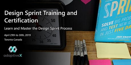 Design Sprint Training and Certification tickets