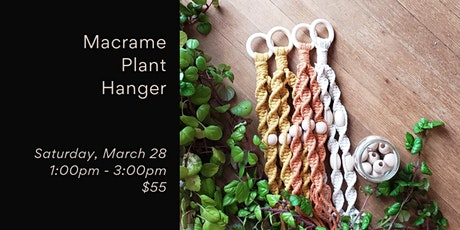 Macrame Plant Hanger tickets