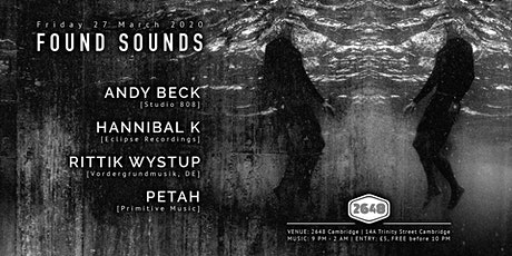 Found Sounds | 27/03/2020 tickets