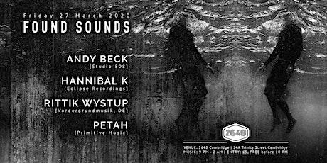 Found Sounds | 27/03/2020 tickets