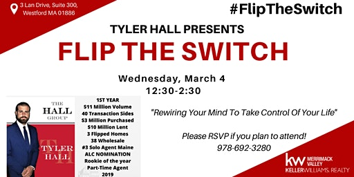 Flip The Switch! with Tyler Hall