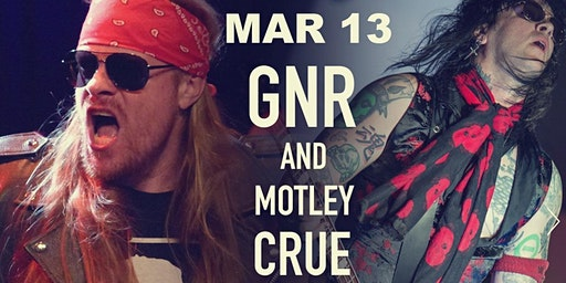 APPETITE FOR DESTRUCTION GNR) & WREKING CRUE MOTLEY CRUE