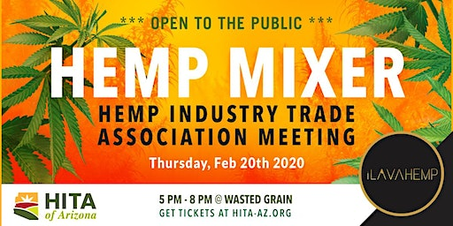 2020 Hemp Industry Trade Association of Arizona Mixer