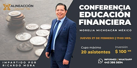 Educación Financiera boletos