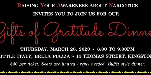 R.Y.A.N.s Gifts of Gratitude Dinner
