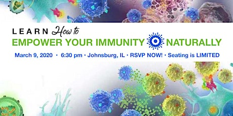 EMPOWER YOUR IMMUNITY NATURALLY tickets