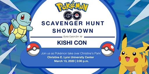 Pokémon GO! Scavenger Hunt Showdown