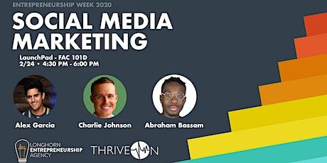 Social Media Marketing Panel tickets