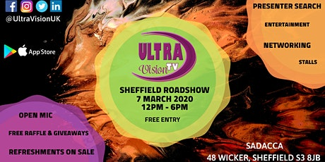 UltraVision TV - SHEFFIELD ROADSHOW tickets
