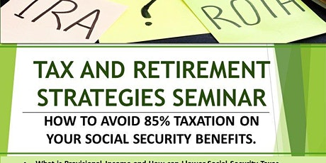 Tax & Retirement Strategies Seminar tickets