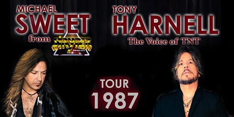 "(CANCELLED)  Tour 1987"" featuring Michael Sweet of Stryper & Tony Harnell tickets"