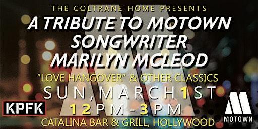 Tribute to Motown Songwriter Marilyn McLeod