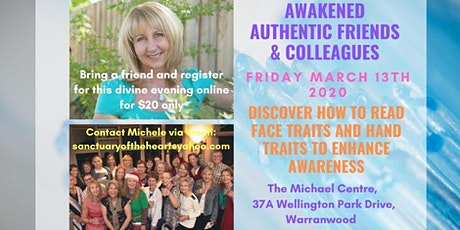Discover How to Read Face Traits & Hand Traits to enhance Awareness! tickets