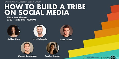 How to Build a Tribe on Social Media tickets
