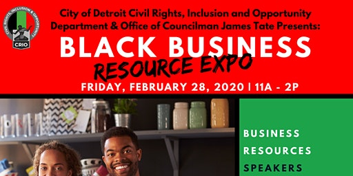 Detroit Black History Month Black Business Resource Expo