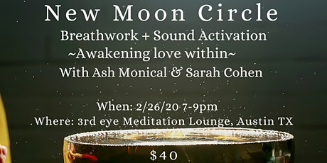 February New Moon Circle tickets