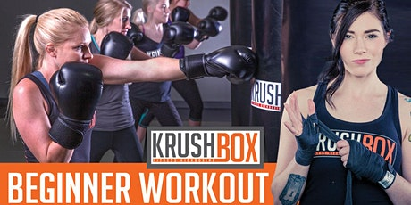 KrushBox Fitness Kickboxing Beginner Workout tickets