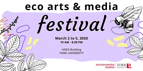 Eco-Arts & Media Festival: Day 4  tickets