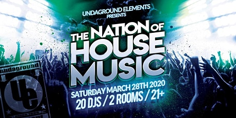 Nation of House Music tickets