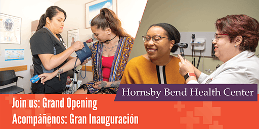 Hornsby Bend Health Center Grand Opening