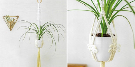 Macrame Plant Hanger Workshop from 'Macrame for the Modern Home' by Isabella Strambio tickets