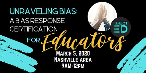 Unraveling Bias: A Bias Response Certification for Educators