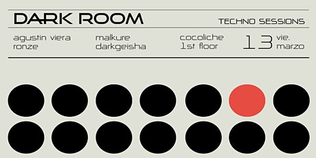 DARK ROOM - Techno Sessions at Cocoliche entradas