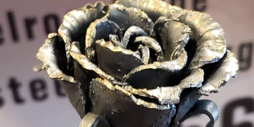 Beginner Blacksmith Flower Build