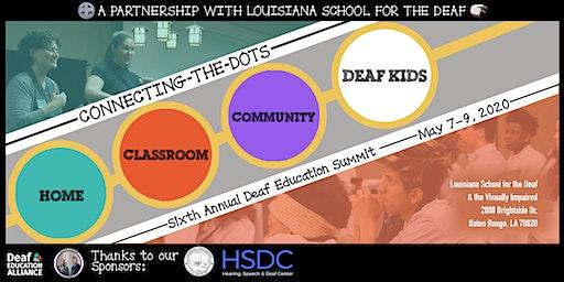 6th Annual Deaf Education Summit