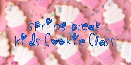 Spring Break Kids Cookie Class tickets