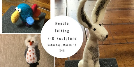 Needle Felting 3D Sculptures tickets