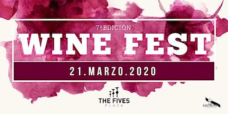 WINE FEST 7a EDICIÓN entradas