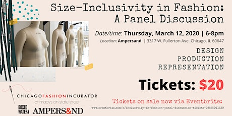 Size Inclusivity in Fashion: A Panel Discussion tickets
