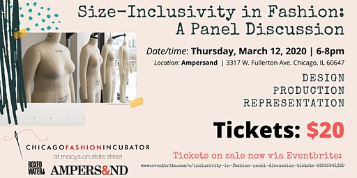 Size Inclusivity in Fashion: A Panel Discussion