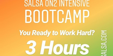 Salsa On2 Intensive 3 Hour Beginner Bootcamp tickets