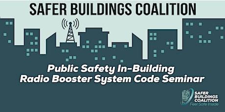 PUBLIC SAFETY IN-BUILDING SEMINAR - WASHINGTON DC AREA tickets
