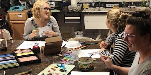Mom's Art Night Drop-In Class