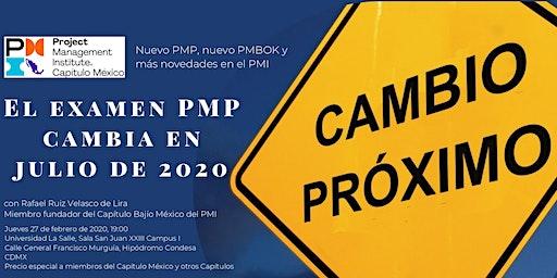 Nuevo PMP®, nuevo PMBOK® y más novedades en el PMI