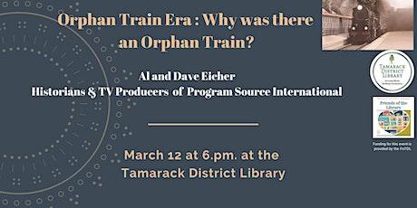 Orphan Train Era tickets