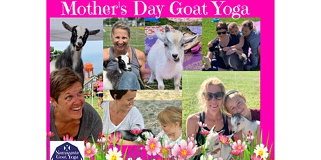 Mother's Day Goat Yoga: Namaaaste Goat Yoga tickets