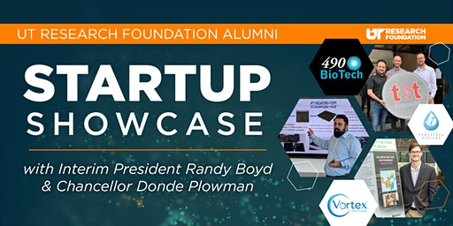 UT Research Foundation Alumni Startup Showcase