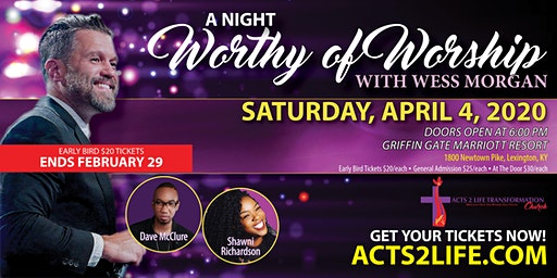 A Night Worthy of Worship With Wess Morgan