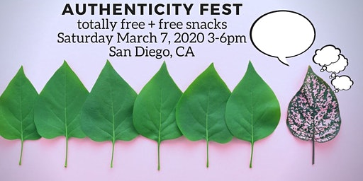Authenticity Fest: hear +/- share stories in an introvert-friendly space (FREE)