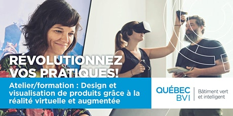 REPORTÉ-Atelier/formation : Design et visualisation de produits grâce à la réalité virtuelle et augmentée  tickets