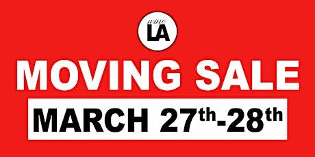 wineLA Moving Sale tickets
